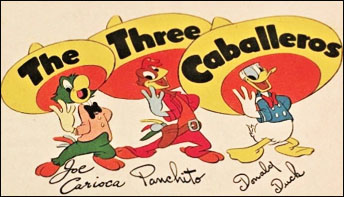"Brazilian Pop In ""The Three Caballeros"""
