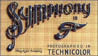 "Audio Productions Remake of Ford's ""Rhapsody In Steel"" (1940)"