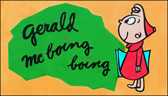 """Dr. Seuss & UPA's """"Gerald McBoing-Boing"""" on Records"""