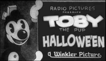 """Hallowe'en"" (1931) with Toby the Pup!"