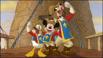 "In His Own Words:  Floyd Norman on Mickey, Donald, Goofy: ""The Three Musketeers"" (2004)"