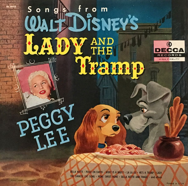 Walt Disney S Lady And The Tramp From Decca To Disneyland