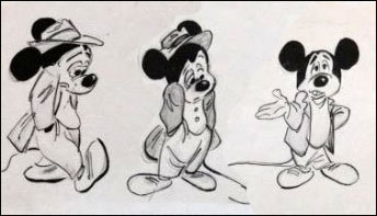 "Mickey Mouse in ""Plight of the Bumblebee"""