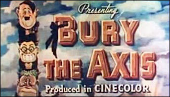 "Some Stop Motion Outtakes from ""Bury the Axis"" (1943)"