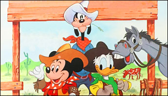Happy Birthday, Cowboy Mickey – and Happy Unbirthday, Will Ryan!