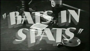 "Irv Spence's ""Rats In Spats"""