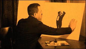 """Max Fleischer's """"Modeling"""" (1921)"""