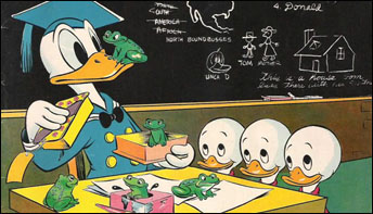 Donald the Educator