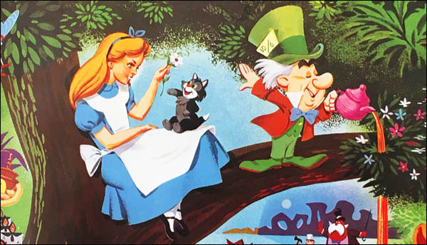 "Happy Anniversary to Walt Disney's ""Alice in Wonderland!"""