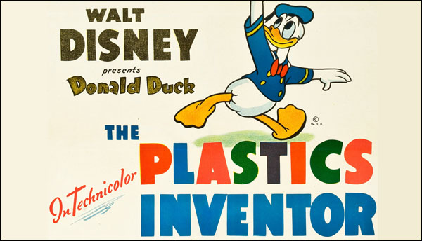 "Donald Duck in ""The Plastics Inventor"" (1944)"
