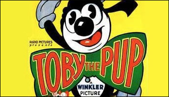 """Toby the Pup in """"The Museum"""" (1930)"""