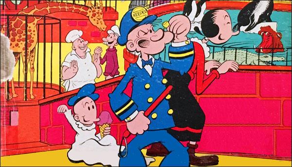 """Celebrating the 111th Birthday of """"Mercer, the Popeye Man"""""""