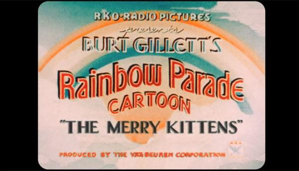 Remembering Bob Koester and Van Beuren's 'Merry Kittens' (1935)