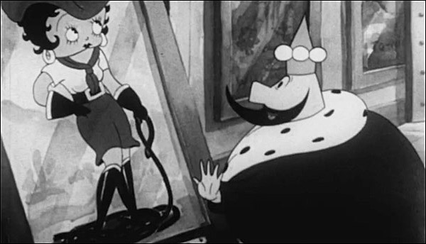 """A Thunderbean Scan of """"Betty Boop and the Little King"""" (1935)"""