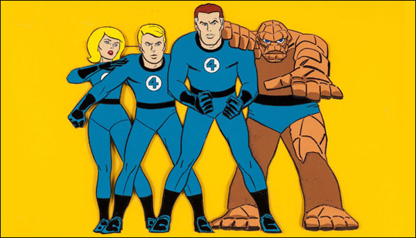 The Animated Fantastic Four