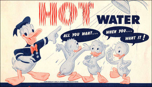 Getting Into Hot Water with Donald Duck
