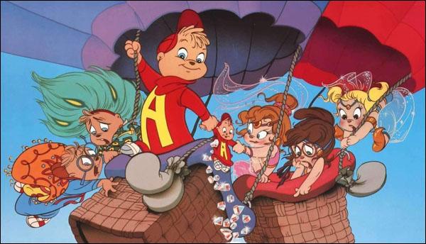 When Alvin & The Chipmunks Sang on Disney Records