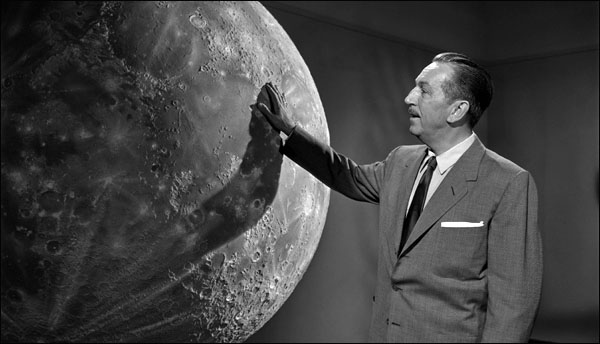 Claude Coats, Walt, and the Imagineers Go To Space